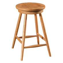 Load image into Gallery viewer, Amish USA Made Handcrafted Haskin Bar Stool sold by Online Amish Furniture LLC