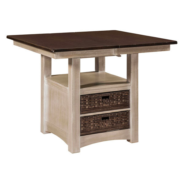 Amish USA Made Handcrafted Heidi Cabinet Table - Pub Table sold by Online Amish Furniture LLC