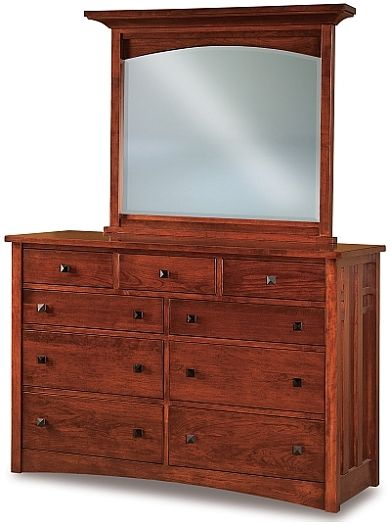 Amish USA Made Handcrafted Kascade 58 sold by Online Amish Furniture LLC