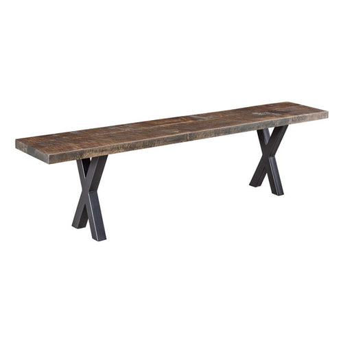 Amish USA Made Handcrafted Laredo Bench sold by Online Amish Furniture LLC