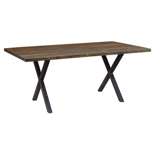 Amish USA Made Handcrafted Laredo Trestle Table sold by Online Amish Furniture LLC