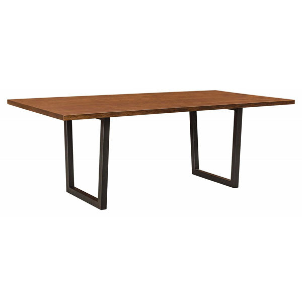 Amish USA Made Handcrafted Lifestyle Trestle Table sold by Online Amish Furniture LLC