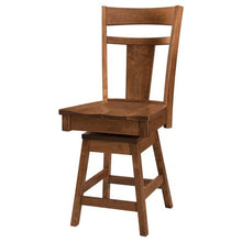 Load image into Gallery viewer, Amish USA Made Handcrafted Livingston Bar Stool sold by Online Amish Furniture LLC