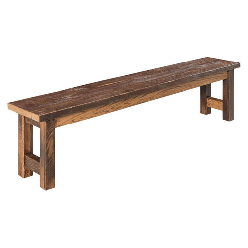 Amish USA Made Handcrafted Lynchburg Bench sold by Online Amish Furniture LLC