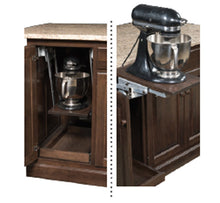 Load image into Gallery viewer, IS_96 Turned Leg Kitchen Island