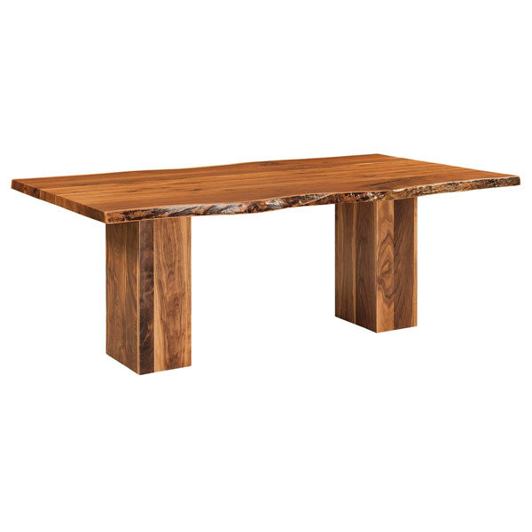Amish USA Made Handcrafted Rio Vista Trestle Table sold by Online Amish Furniture LLC