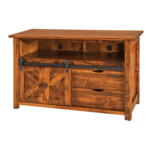 Amish USA Made Handcrafted Teton TV Cabinets sold by Online Amish Furniture LLC