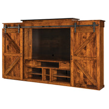 Load image into Gallery viewer, Amish USA Made Handcrafted Teton Wall Unit sold by Online Amish Furniture LLC