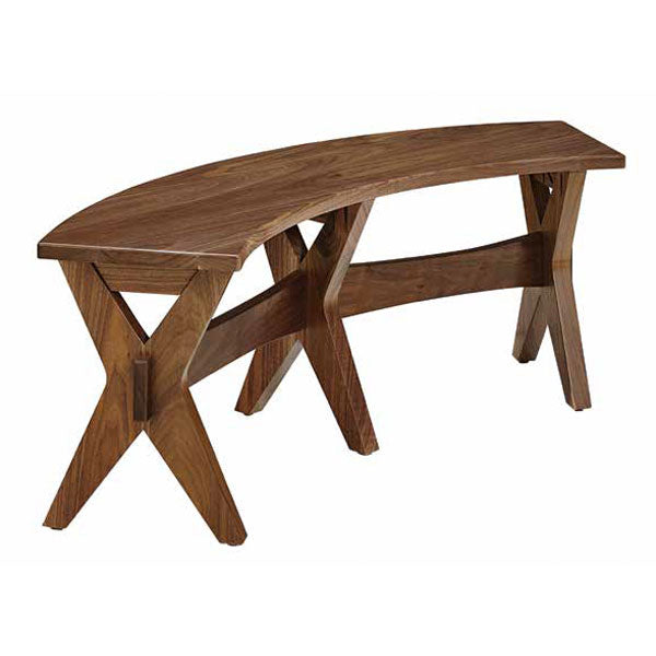 Amish USA Made Handcrafted Vadsco Bench sold by Online Amish Furniture LLC