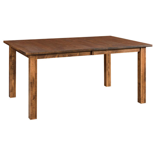 Amish USA Made Handcrafted Vintage Leg Table sold by Online Amish Furniture LLC