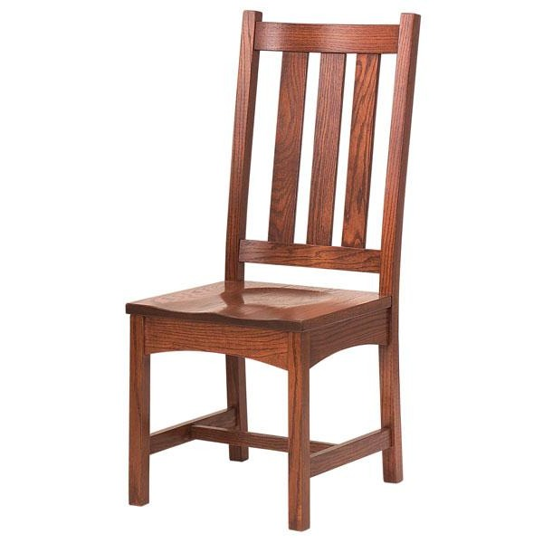Amish USA Made Handcrafted Vintage Mission Chair sold by Online Amish Furniture LLC