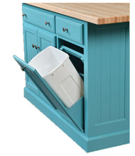 Load image into Gallery viewer, IS_94 Turned Leg Kitchen Island