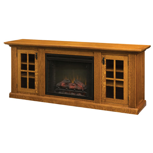 Amish USA Made Handcrafted Weston Home Theater sold by Online Amish Furniture LLC