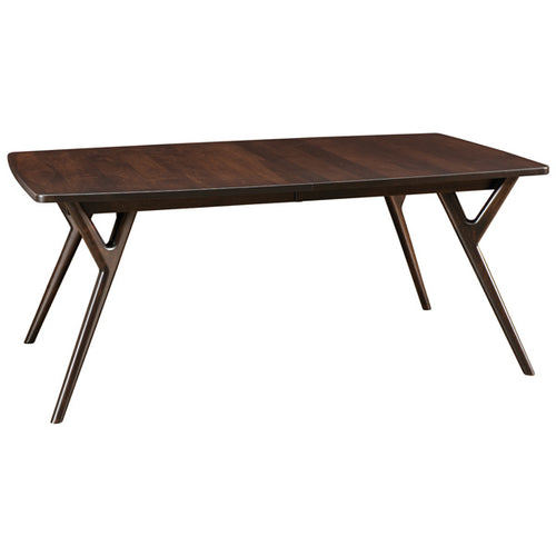 Amish USA Made Handcrafted Wilton Leg Table sold by Online Amish Furniture LLC