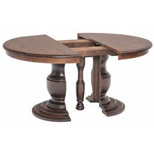 Load image into Gallery viewer, Amish USA Made Handcrafted Zigler Split Pedestal Table sold by Online Amish Furniture LLC