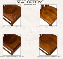 Load image into Gallery viewer, Amish USA Made Handcrafted Lexington Fan Chair sold by Online Amish Furniture LLC