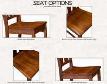 Load image into Gallery viewer, Amish USA Made Handcrafted Sierra Chair sold by Online Amish Furniture LLC