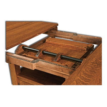 Load image into Gallery viewer, Amish USA Made Handcrafted Colebrook Cabinet Table - Pub Table sold by Online Amish Furniture LLC
