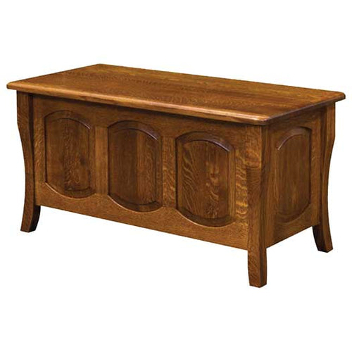 Amish USA Made Handcrafted Berkley Cedar Chest sold by Online Amish Furniture LLC