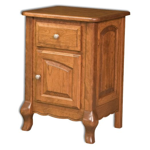 Amish USA Made Handcrafted French Country Nightstand sold by Online Amish Furniture LLC