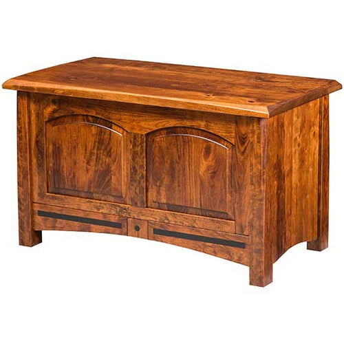 Amish USA Made Handcrafted Lavega Cedar Chest sold by Online Amish Furniture LLC