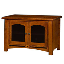 Load image into Gallery viewer, Amish USA Made Handcrafted Lavega Plasma TV Stands sold by Online Amish Furniture LLC