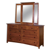 Load image into Gallery viewer, Amish USA Made Handcrafted McCoy 9 Drawer Dresser sold by Online Amish Furniture LLC