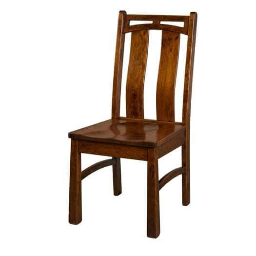 Amish USA Made Handcrafted Bridgeport Chair sold by Online Amish Furniture LLC