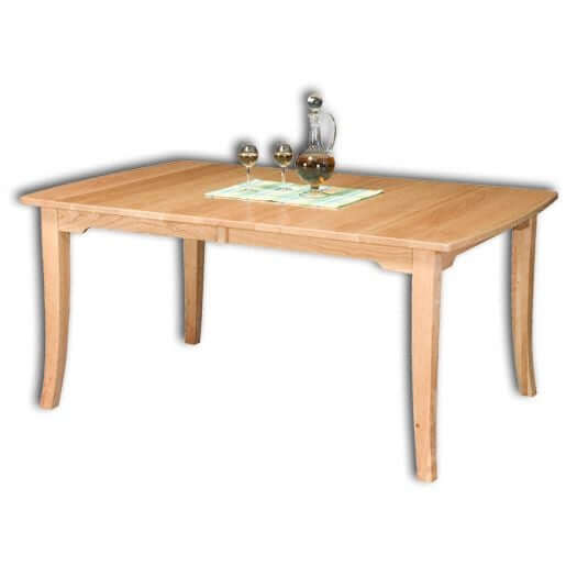Amish USA Made Handcrafted Broadway Leg Table sold by Online Amish Furniture LLC