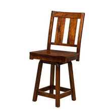 Load image into Gallery viewer, Amish USA Made Handcrafted Brunswick Bar Stool sold by Online Amish Furniture LLC