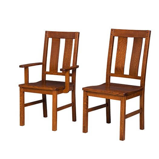 Amish USA Made Handcrafted Brunswick Chair sold by Online Amish Furniture LLC