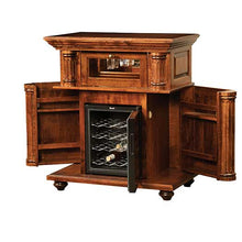 Load image into Gallery viewer, Amish USA Made Handcrafted Bryant Wine Cabinet sold by Online Amish Furniture LLC