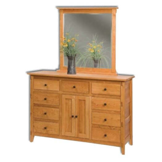 Amish USA Made Handcrafted Bungalow Dresser sold by Online Amish Furniture LLC