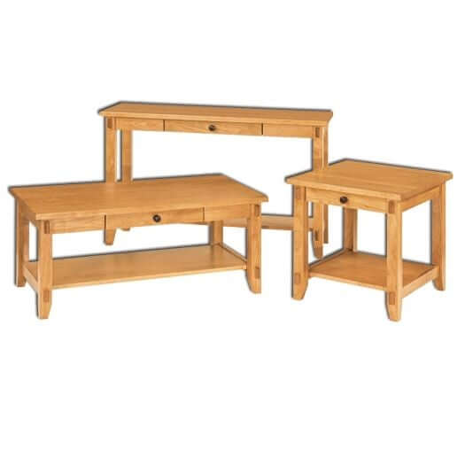 Amish USA Made Handcrafted Bungalow Occasional Tables sold by Online Amish Furniture LLC