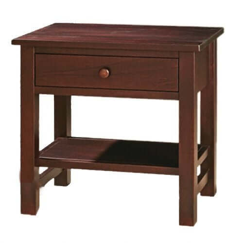 Amish USA Made Handcrafted Cabin Creek 1-Drawer Nightstand sold by Online Amish Furniture LLC