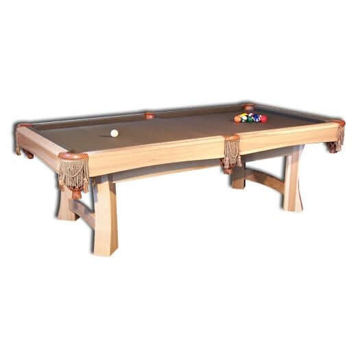 Amish USA Made Handcrafted Caledonia Billiard Table sold by Online Amish Furniture LLC