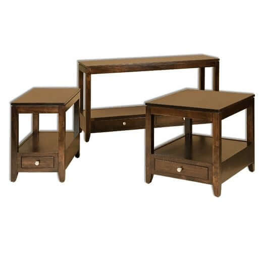 Amish USA Made Handcrafted Camden Occasional Tables sold by Online Amish Furniture LLC