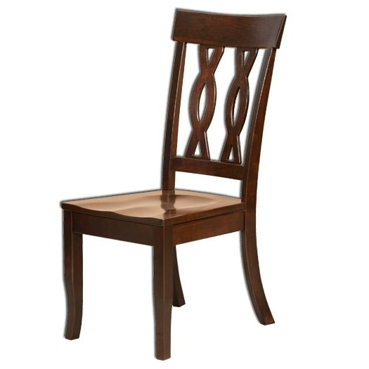 Amish USA Made Handcrafted Carson Traditional Chair sold by Online Amish Furniture LLC