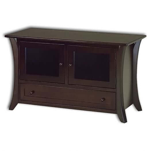 Amish USA Made Handcrafted Caledonia T.V Cabinets sold by Online Amish Furniture LLC