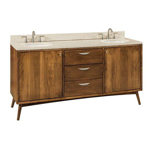 Amish USA Made Handcrafted Century Lavatory - Vanity sold by Online Amish Furniture LLC