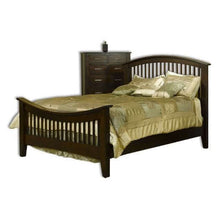 Load image into Gallery viewer, Amish USA Made Handcrafted Cambrai Mission Bed sold by Online Amish Furniture LLC