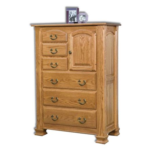 Amish USA Made Handcrafted Charleston Door Chest sold by Online Amish Furniture LLC
