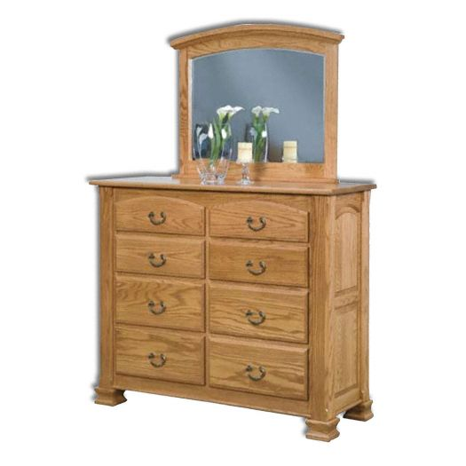 Amish USA Made Handcrafted Charleston Dresser sold by Online Amish Furniture LLC
