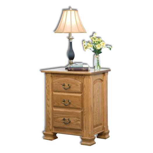 Amish USA Made Handcrafted Charleston Nightstand sold by Online Amish Furniture LLC
