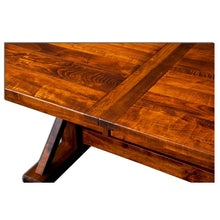 Load image into Gallery viewer, Amish USA Made Handcrafted Manchester Trestle Table sold by Online Amish Furniture LLC