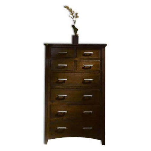 Amish USA Made Handcrafted Cambrai Mission Chest of Drawers sold by Online Amish Furniture LLC