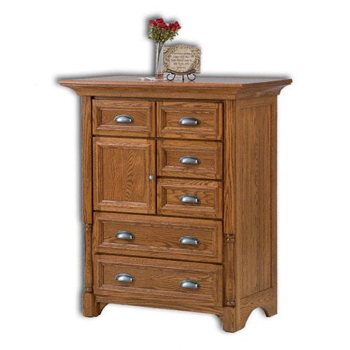 Amish USA Made Handcrafted Palisade Chest of Drawers sold by Online Amish Furniture LLC