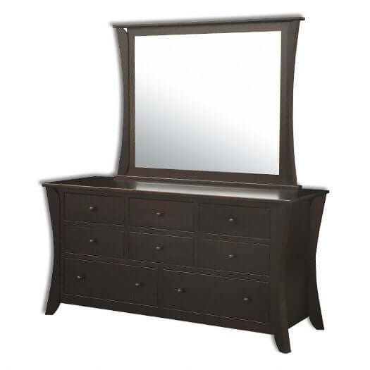 Amish USA Made Handcrafted Caledonia 8 Drawer Dresser sold by Online Amish Furniture LLC