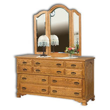 Load image into Gallery viewer, Amish USA Made Handcrafted Classic Heritage Dresser sold by Online Amish Furniture LLC