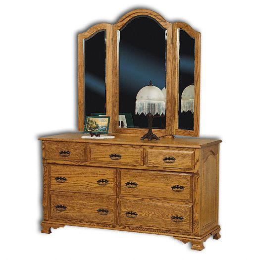 Amish USA Made Handcrafted Classic Heritage Dresser sold by Online Amish Furniture LLC